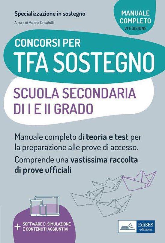 Concorsi TFA Sostegno didattico nelle scuole secondarie di I e II grado - Edizione 2021