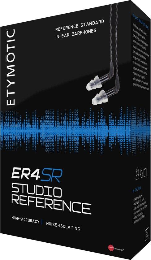 Etymotic ER4-SR - In-ear Hifi Oordopjes - Studio Reference Earphones - Professionele Geluidskwaliteit - Noise Isolating