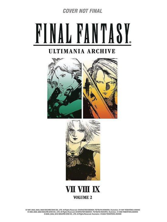 Final Fantasy Ultimania Archive Volume 2
