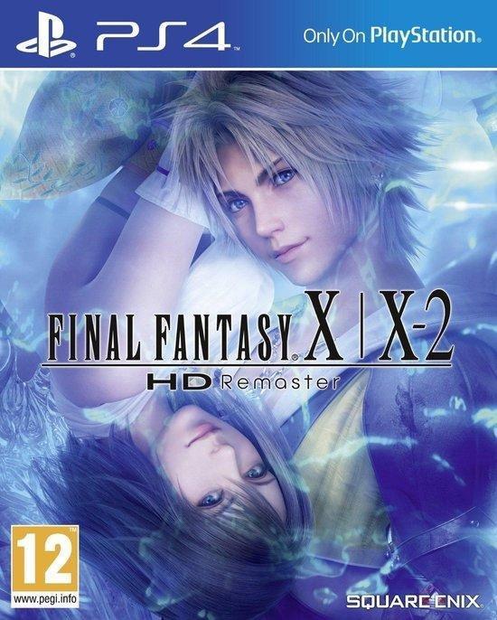 Final Fantasy X/X-2 HD: Remaster - PS4 - Engelstalige hoes