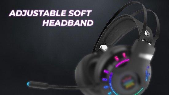 INCA IGK-TX12 Lapetos Series Gamıng Headset 7.1 Surround RGB Led Functional Control Vibration PS/Xbox