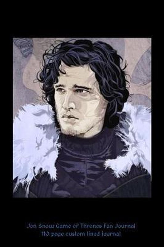 Jon Snow Game of Thrones Fan Journal