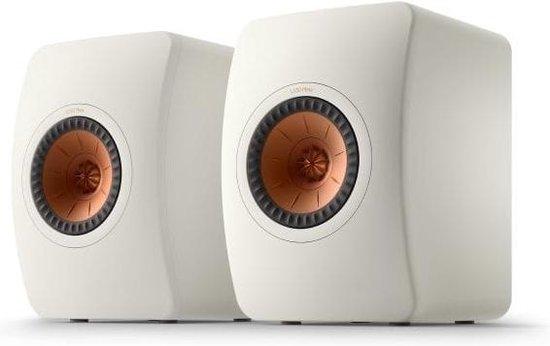 KEF LS50 Meta Boekenplank speaker Mineral white (per paar)