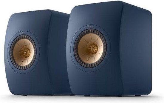KEF LS50 Meta Boekenplank speaker Royal Blue (per paar)