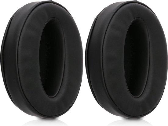 kwmobile 2x oorkussens voor Sennheiser HD 4.50 BTNC koptelefoons - imitatieleer - voor over-ear-koptelefoon - zwart
