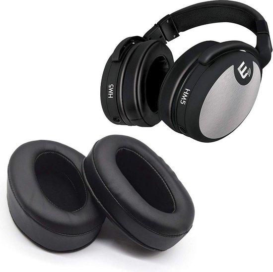 Luxe Lederen Oorkussen Set Voor Audio Technica ATH-M50X M50 M50xBT M30x M10 M20X MSR7NC A900X AD900x 900 M40X R70x BPSH1 M40FS PRO700 AD700X MSR7 - Koptelefoon Earpads - Oor Kussens - Ear Pads - Oorkussens Met Memory Foam Binnenlaag - Zwart