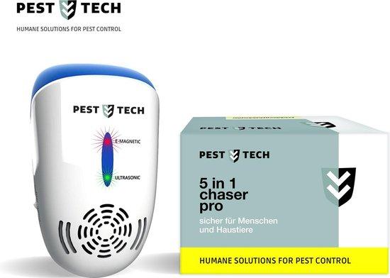 Pest Tech™ Ultrasone Ongedierte Verjager Pro - Bestrijd en Verjaagt ongewenst ongedierte - Netstroom