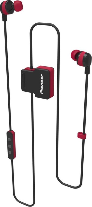 Pioneer SE-CL5BT Bluetooth In-Ear Red