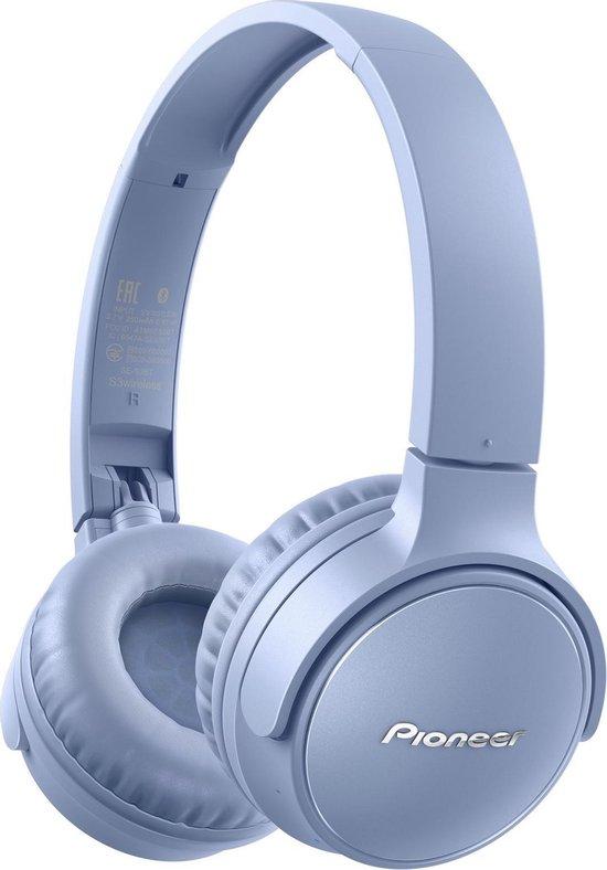Pioneer SE-S3BT(L)CZU Headset Hoofdband Bluetooth Blauw