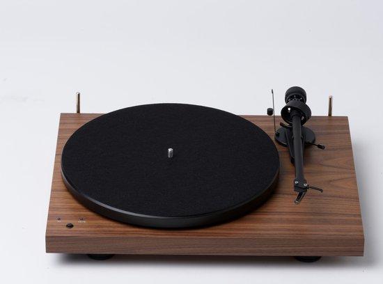 Pro-Ject Debut Recordmaster II OM5e Platenspeler - Walnoot