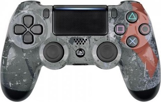 PS4, Wireless Dualshock 4 Controller V2 - God of War Custom
