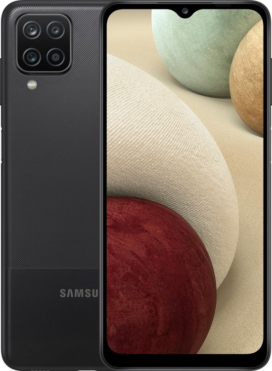 Samsung Galaxy A12 - 64GB - Zwart